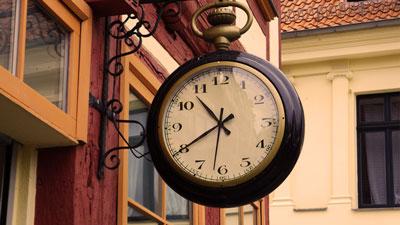 Antik klocka